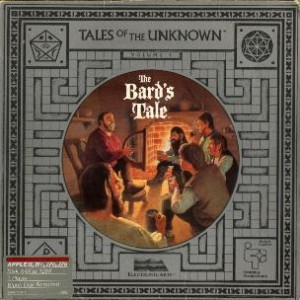 The Bard's Tale box cover