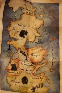 Game of Thrones map 01