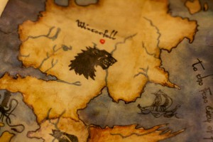 Game of Thrones map 02