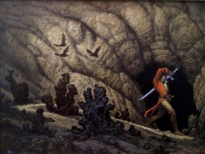 Michael Whelan: Rand at Shayol Ghul