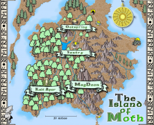 Map: The Island of Moth