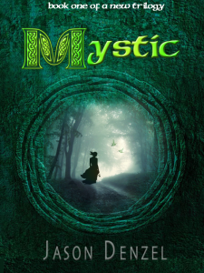 Mystic book cover (woman)