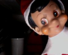 Elf on the Shelf comes to life