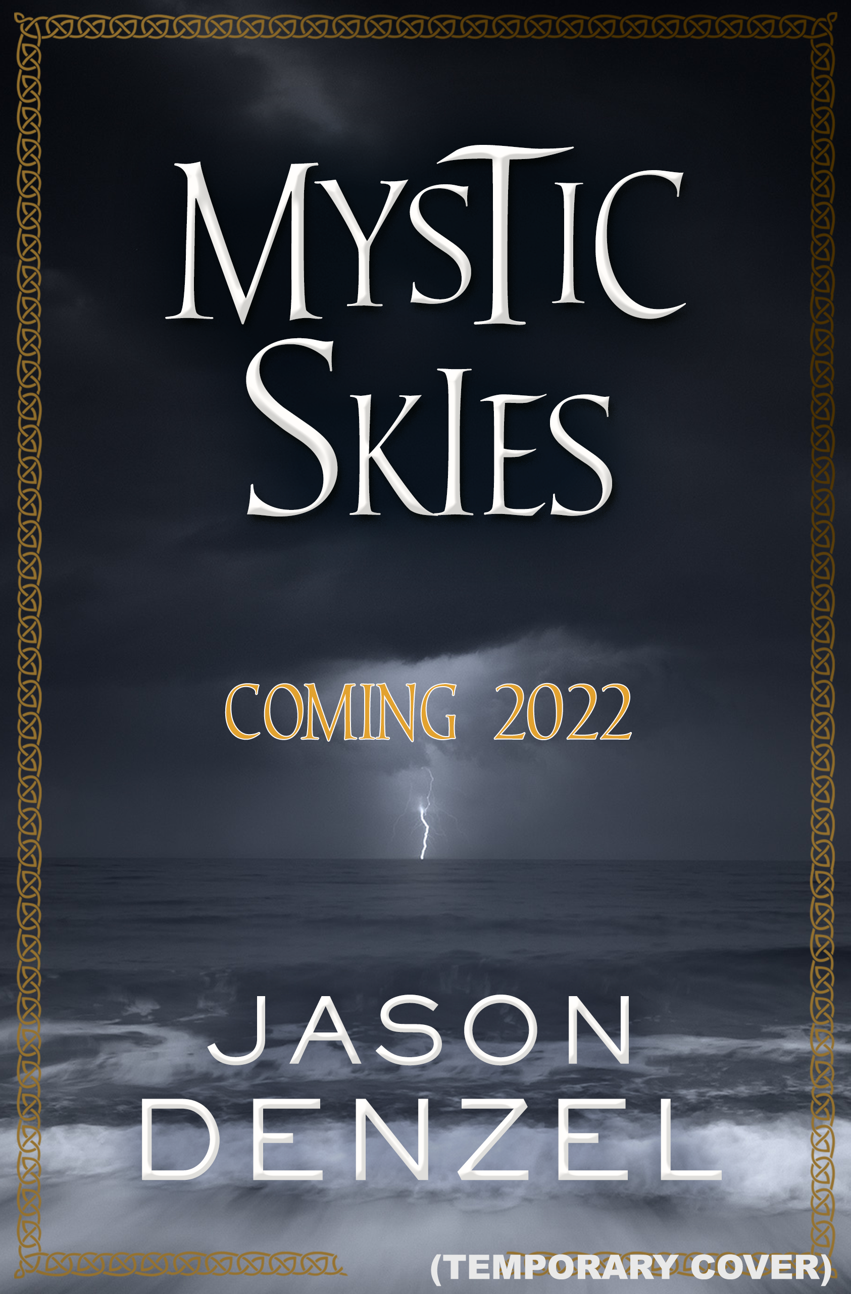 Mystic Skies by Jason Denzel temporary book cover